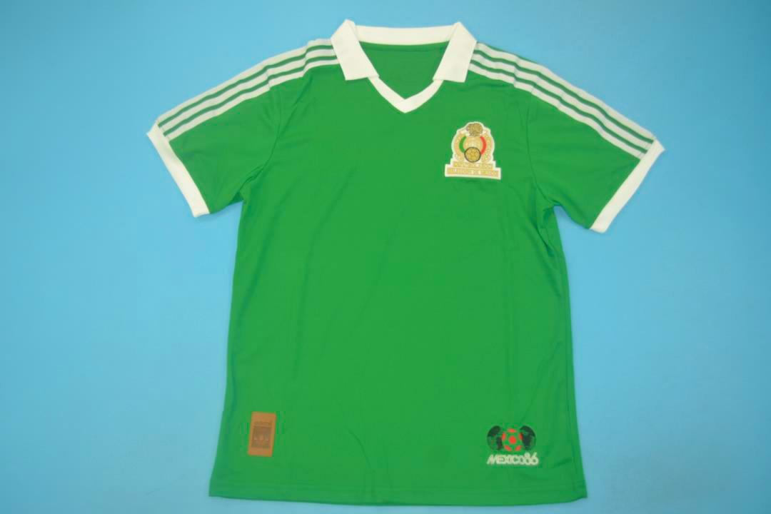 Hugo Sanchez Mexiko Legend T-Shirt gr/ün