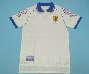 Shirt Front, Japan 1998 Away White Short-Sleeve