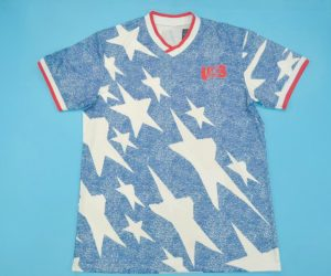 Shirt Front, United States USA 1994 Away Denim Short-Sleeve