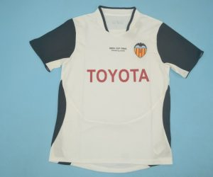Shirt Front, Valencia 2003-2004 Home Short-Sleeve