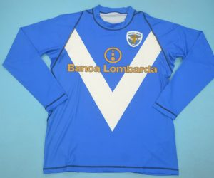 Shirt Front, Brescia 2003-2004 Home Long-Sleeve
