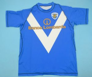 Shirt Front, Brescia 2003-2004 Home Short-Sleeve
