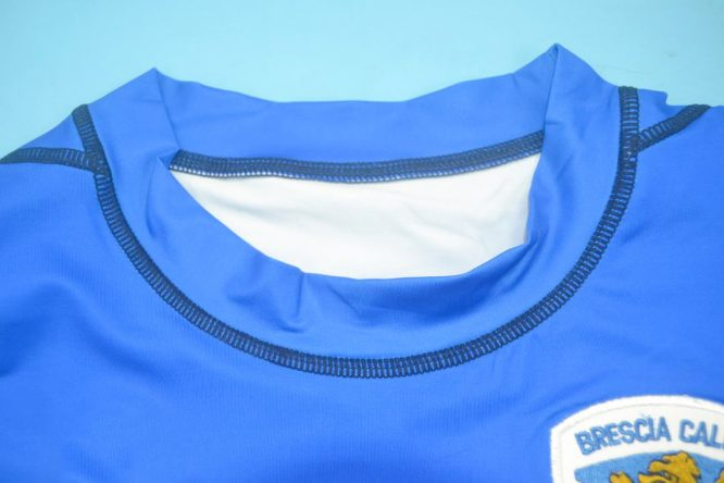 Shirt Collar Front, Brescia 2003-2004 Home Short-Sleeve
