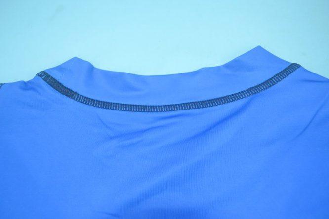 Shirt Collar Back, Brescia 2003-2004 Home Short-Sleeve