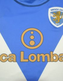 Shirt Banca Lombardia Imprint, Brescia 2003-2004 Home Long-Sleeve