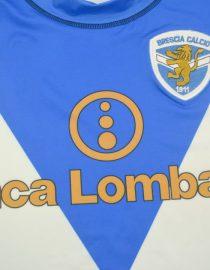 Shirt Banca Lombardia Imprint, Brescia 2003-2004 Home Short-Sleeve