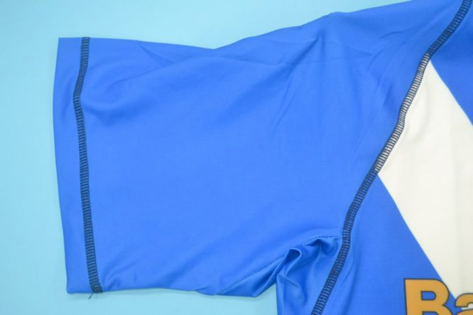 Shirt Sleeve, Brescia 2003-2004 Home Short-Sleeve