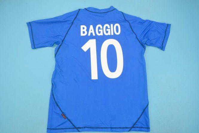 Baggio Nameset, Brescia 2003-2004 Home Short-Sleeve