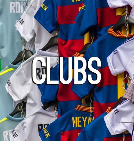 Clubs Retro Soccer Shirts