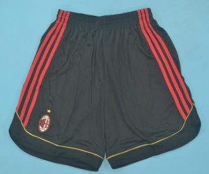 Shorts Front, AC Milan 2006-2007 Home Shorts