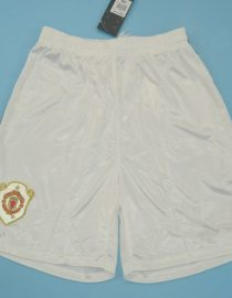 Shorts Front, Manchester United 1998-1999 UCL Final Shorts
