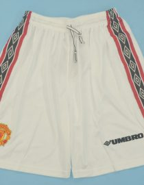 Shorts Front, Manchester United 1998-2000 Home Shorts