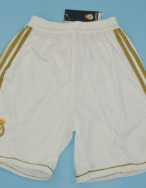 Shorts Front, Real Madrid 2011-2012 Home Shorts