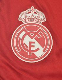 Shorts Real Madrid Logo, Real Madrid 2011-2012 Third Red Shorts