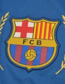 Shorts Barcelona Logo, Barcelona 2007-2008 Home Shorts