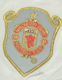 Shorts Manchester United Logo, Manchester United 1998-1999 UCL Final Shorts