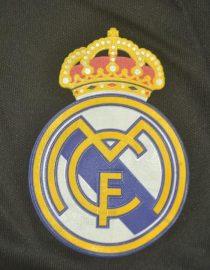 Shorts Real Madrid Logo, Real Madrid 2011-2012 Away Black Shorts