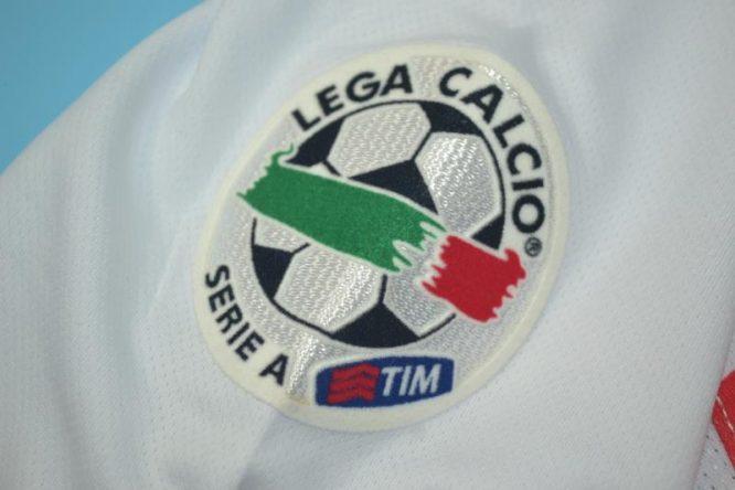 Serie A Patch, Inter Milan 2007-2008 Away Centenary Short-Sleeve
