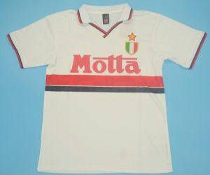 Shirt Front, AC Milan 1993-1994 Away Short-Sleeve