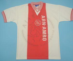 Shirt Front, Ajax 1995-1996 Home Short-Sleeve