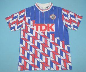 Shirt Front, Ajax Amsterdam 1989-1990 Away Short-Sleeve
