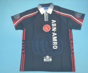 Shirt Front, Ajax Amsterdam 1997-1998 Away Short-Sleeve