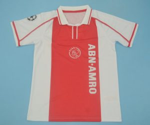 Shirt Front, Ajax Amsterdam 1998-1999 Home Short-Sleeve