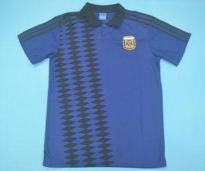 Shirt Front, Argentina 1994 Away Short-Sleeve