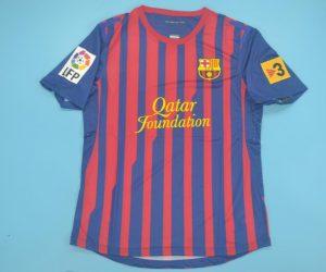 Shirt Front, Barcelona 2011-2012 Home Short-Sleeve