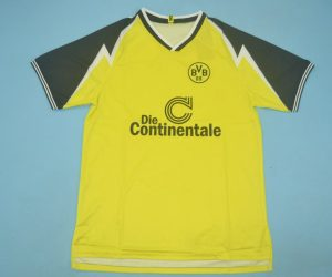 ShirtFront, Borussia Dortmund 1995-1996 Home Short-Sleeve