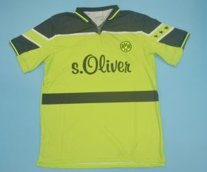 Shirt Front, Borussia Dortmund 1997-1998 Home Short-Sleeve