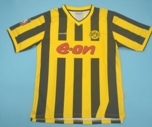 Shirt Front, Borussia Dortmund 2000-2002 Home Short-Sleeve
