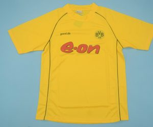 Shirt Front, Borussia Dortmund 2001-2002 Home Short-Sleeve