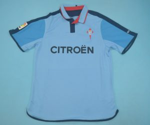 Shirt Front, Celta Vigo 2003-2005 Home Short-Sleeve
