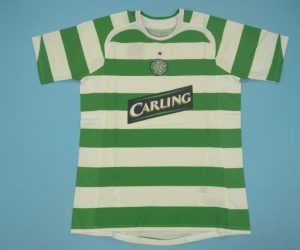 Shirt Front, Celtic Glasgow 2005-2007 Home Short-Sleeve
