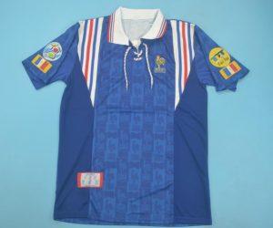 Shirt Front, France 1996 Home Short-Sleeve
