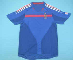 Shirt Front, France 2004 Home Short-Sleeve