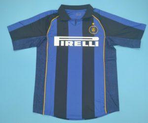 Shirt Front, Inter Milan 2001-2002 Home Short-Sleeve