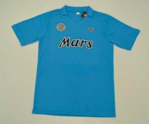 Shirt Front, Napoli 1988-1989 Home Short-Sleeve Kit
