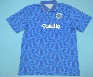 Shirt Front, Napoli 1991-1993 Home Short-Sleeve