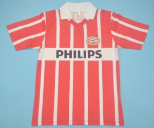 Shirt Front, PSV Eindhoven 1990-1994 Home Short-Sleeve