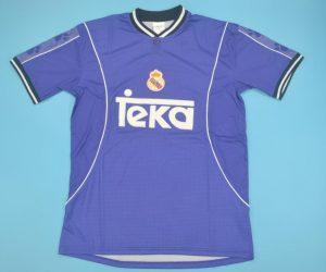 Shirt Front, Real Madrid 1997-1998 Away Purple Short-Sleeve