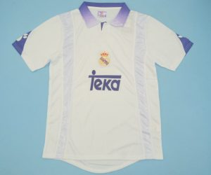 Shirt Front, Real Madrid 1997-1998 Home Short-Sleeve