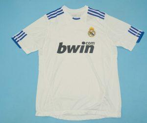 Shirt Front, Real Madrid 2010-2011 Home Short-Sleeve Kit