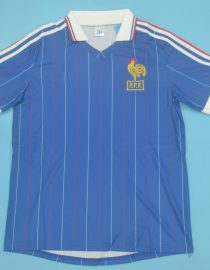 Shirt Front, France 1982 Home Short-Sleeve