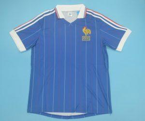 Shirt Front, France 1982 Home Short-Sleeve