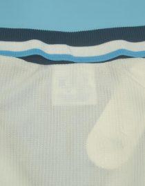 Shirt Collar Back, England 1996 Home Short-Sleeve
