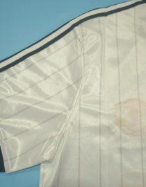 Shirt Sleeve, Manchester United 1983 Away White Charity Shield Final Short-Sleeve
