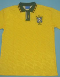 Shirt Front, Brazil 1991-1993 Home Short-Sleeve