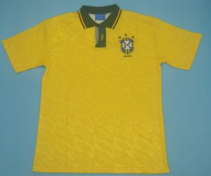 Shirt Front, Brazil 1991-1993 Home Short-Sleeve